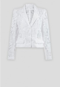 Leandra Embroidered Organza Floral Jacket - $346