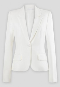 Lido Long Sleeve White Jacket - $450