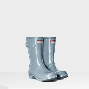 Original Short Gloss Rain Boot - Hunter $140
